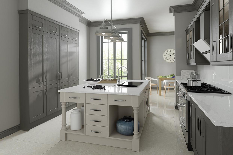Madison Lava Amp Light Grey Kitchen Solutions Kilkenny