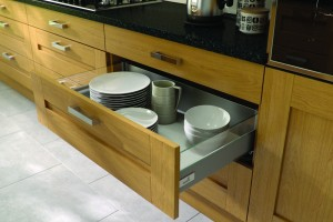 Ash Wood Effect Kitchen