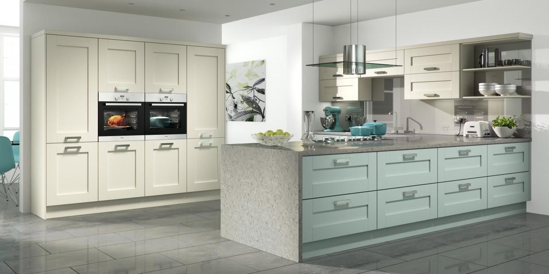 Ash Wood Effect Kitchen